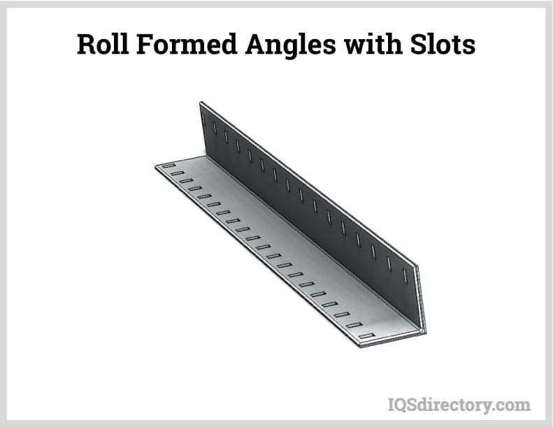 Roll Formed Angles with Slots