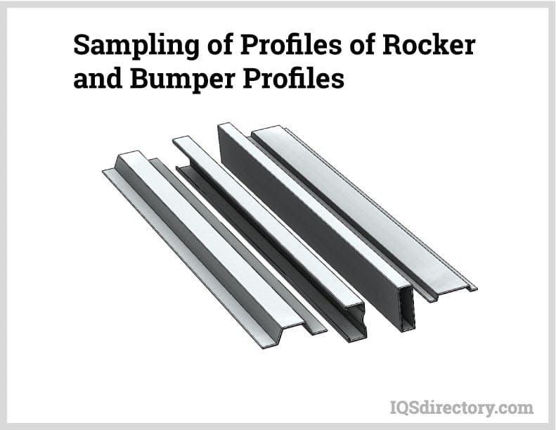 Sampling of Profiles of Rocker and Bumper Profiles