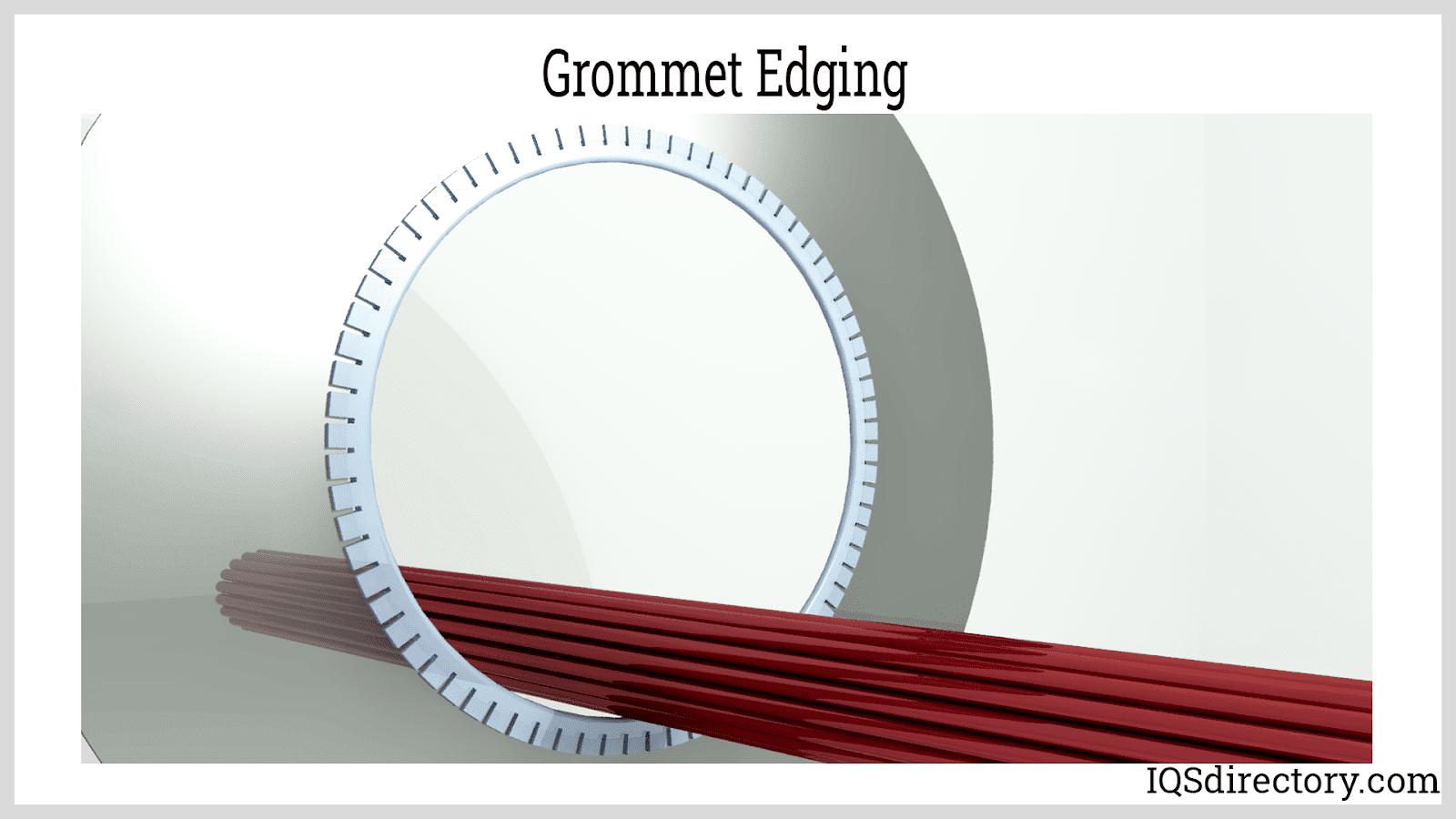 Grommet Edging
