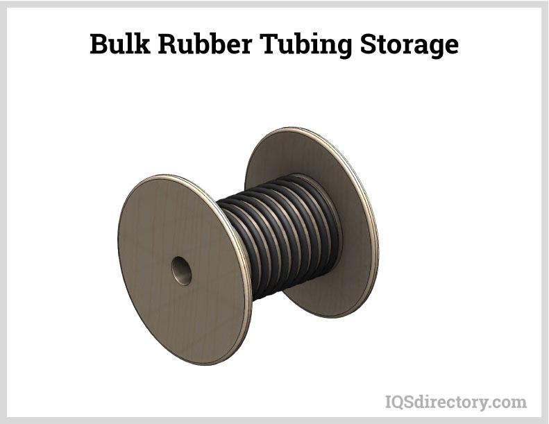 Bulk Rubber Tubing Storage