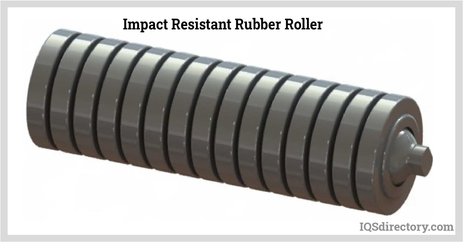 Impact Resistant Rubber Roller
