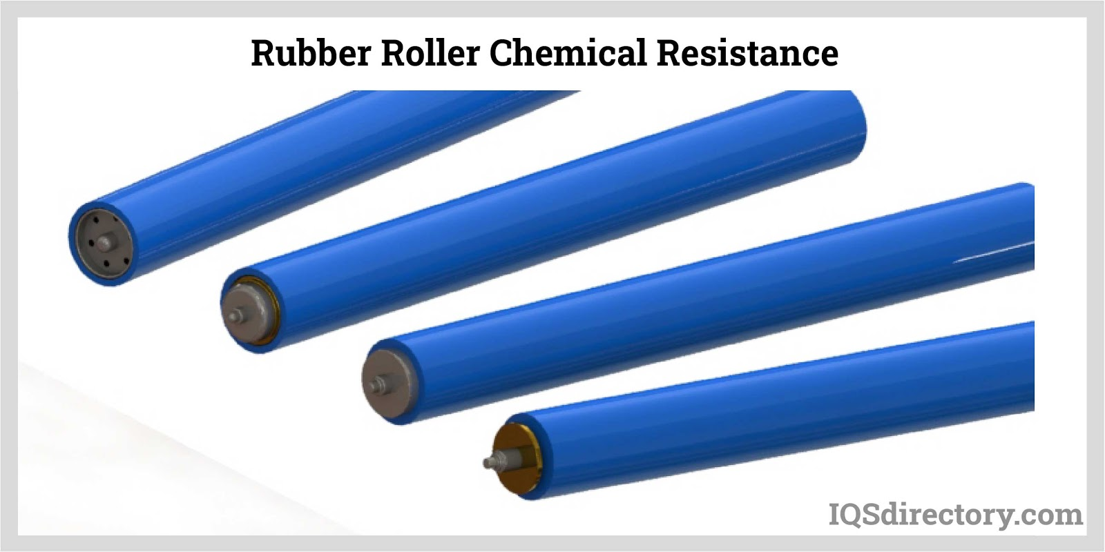 Rubber Roller Chemical Resistance