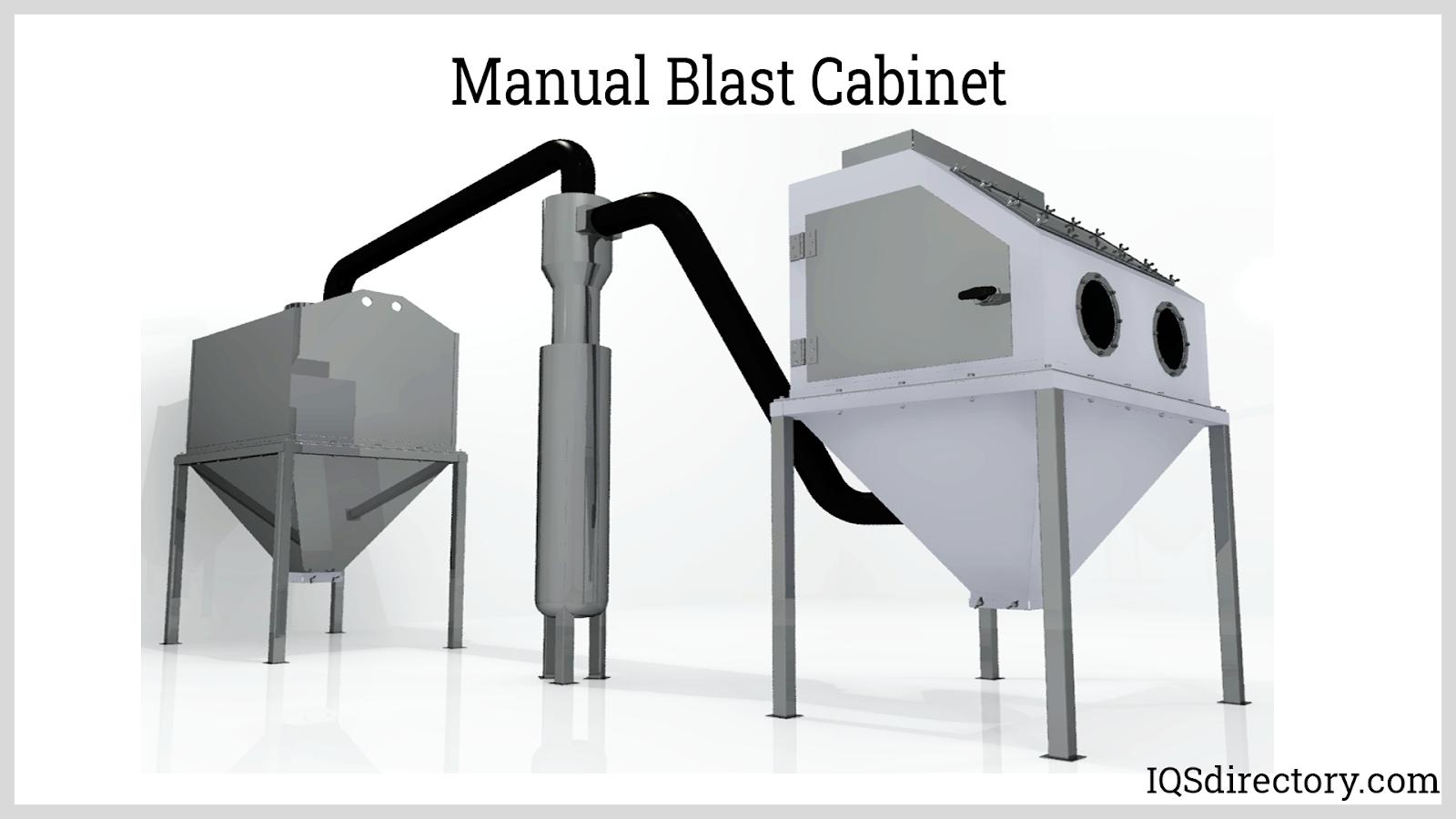 Manual Blast Cabinet