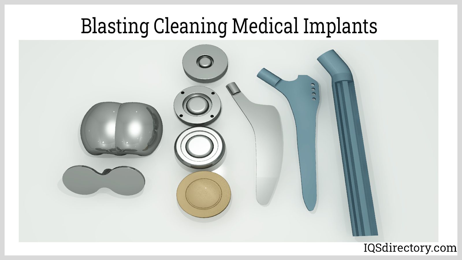 Blasting Cleaning Medical Implants