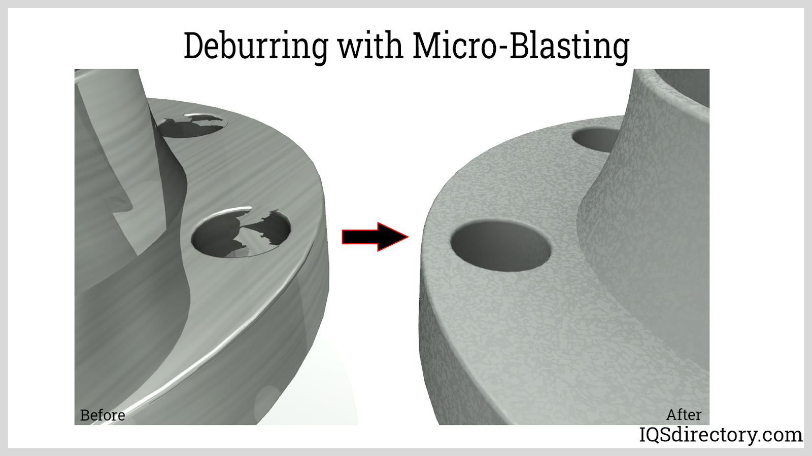 Deburring with Micro-Blasting