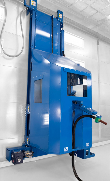 Enclosed Blast Booth Lifts