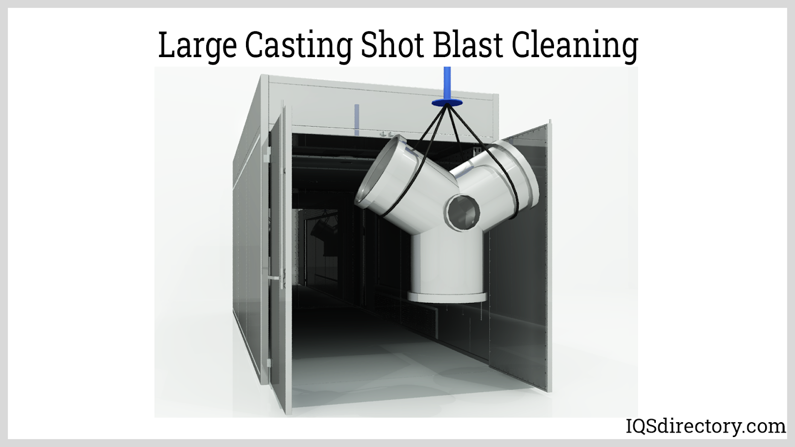 Large Casting Shot Blast Cleaning