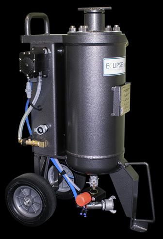 Portable Soda Blasting Machine or Blast Pot