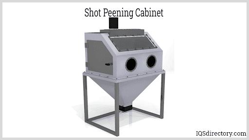 Shot Peening Cabinet