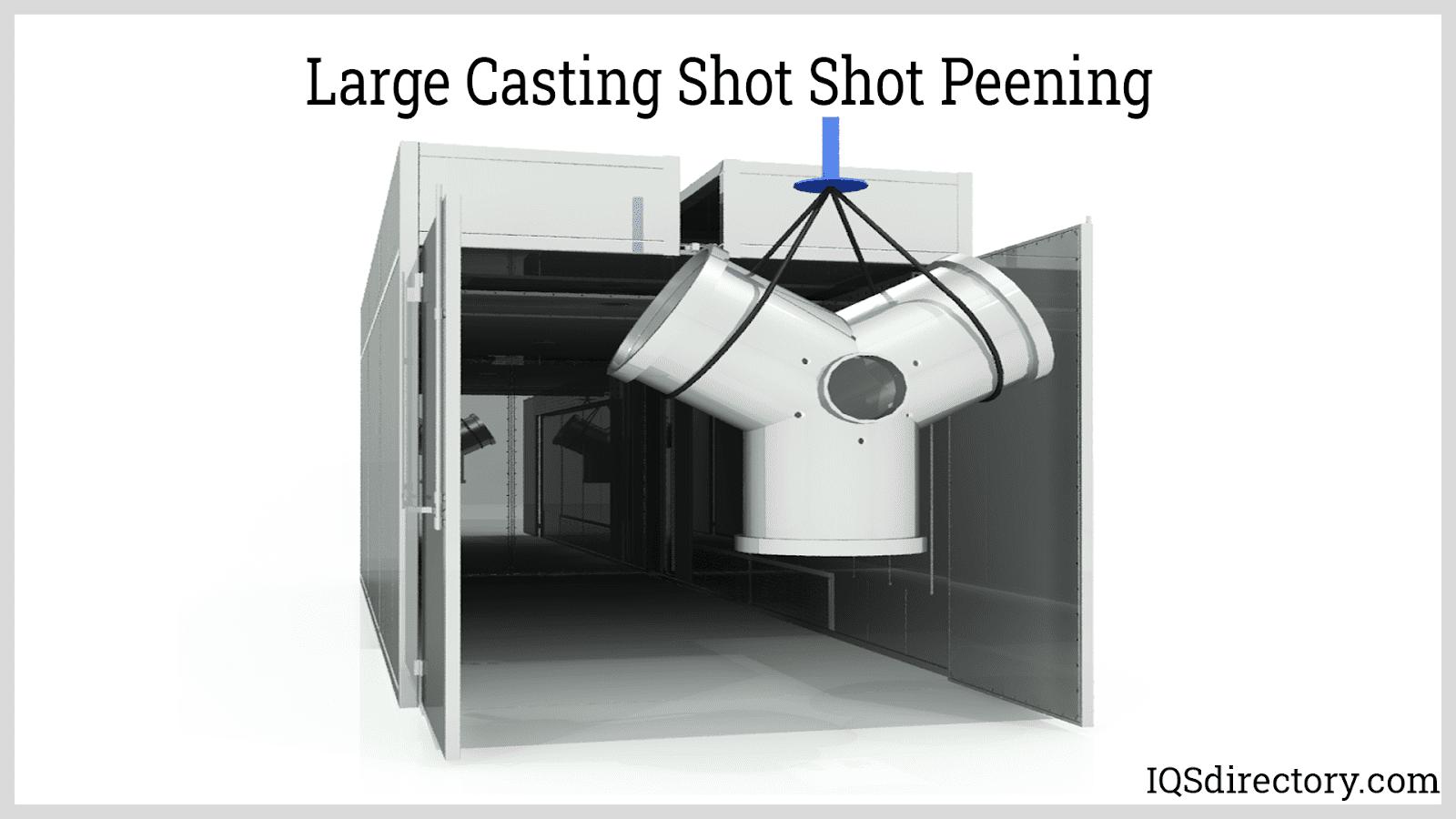 Large Casting Shot Shot Peening