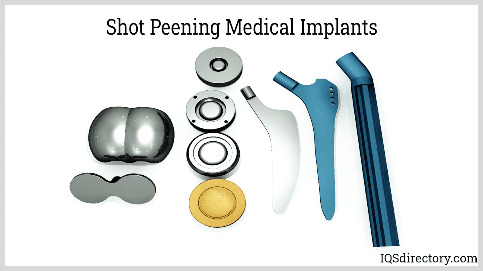Shot Peening Medical Implants