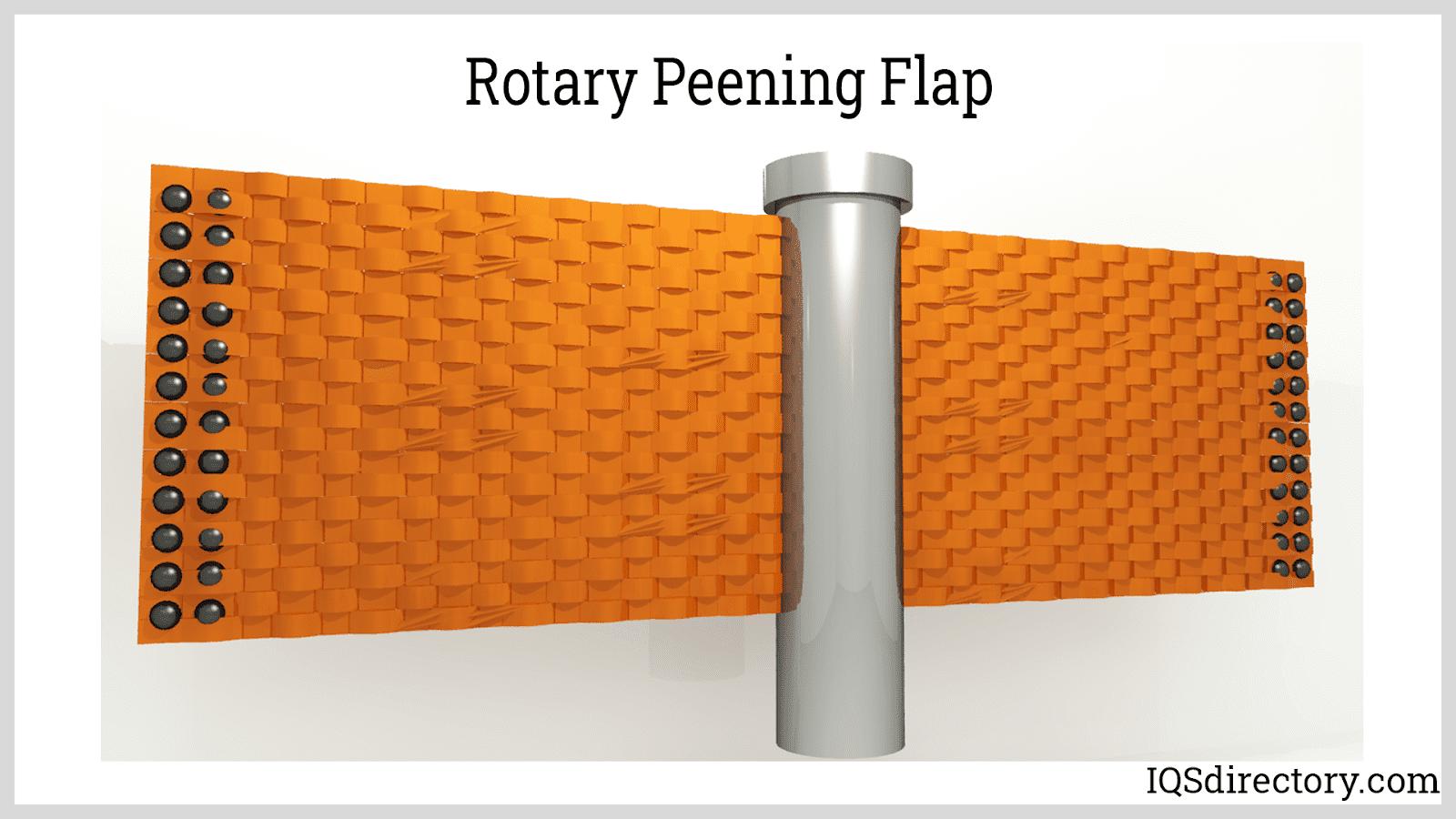 Rotary Peening Flap