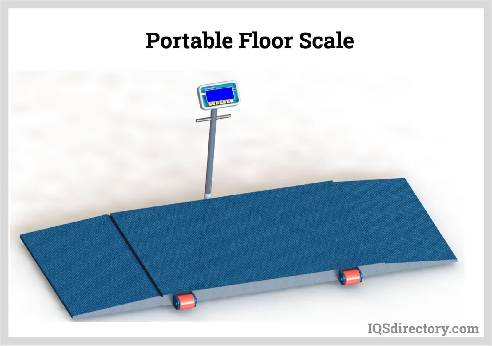 Portable Floor Scale