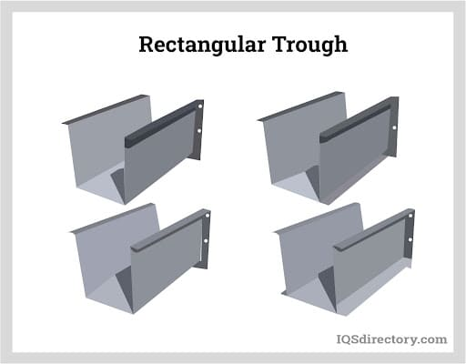 Rectangular Trough