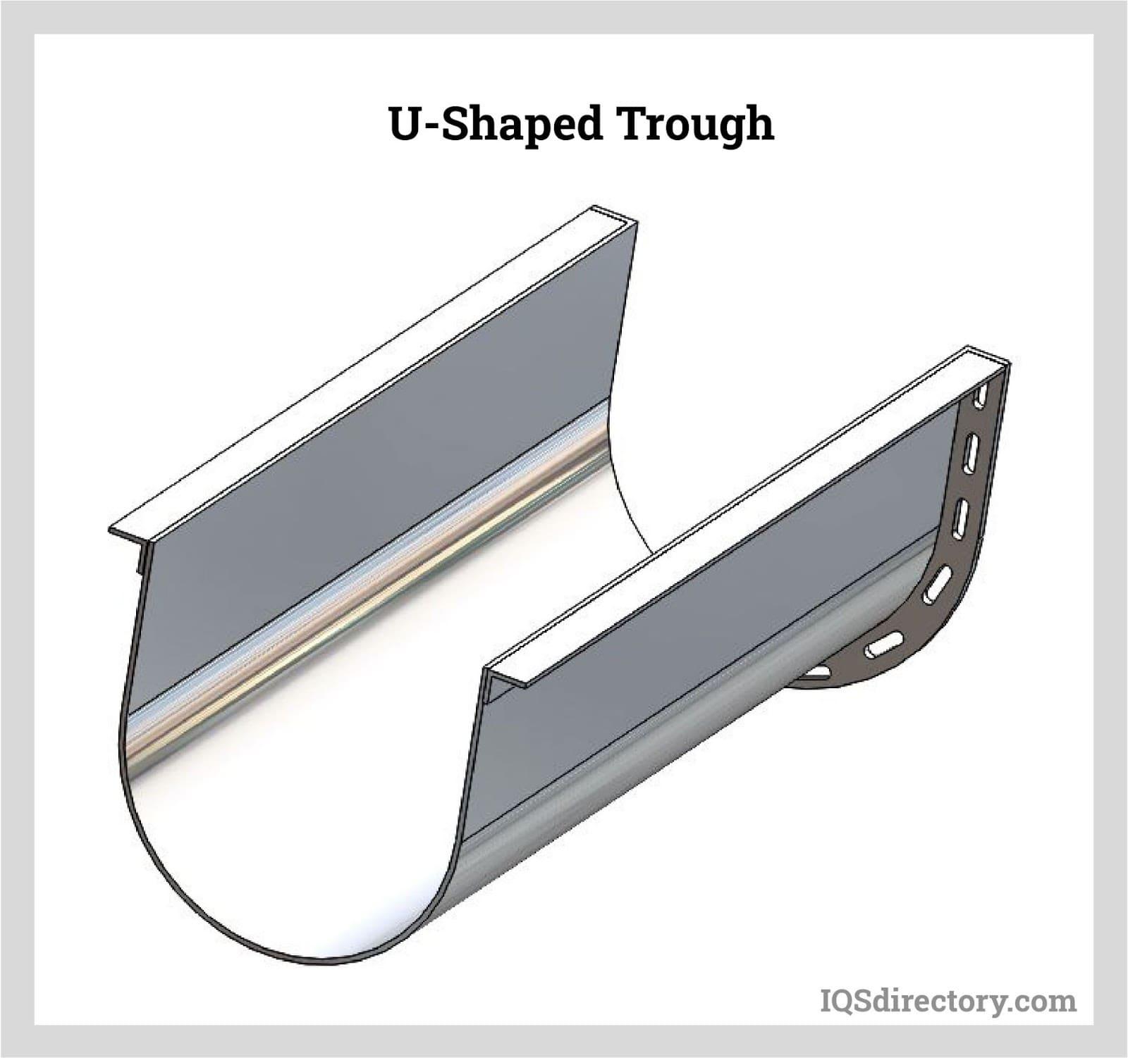 U-Shaped Trough