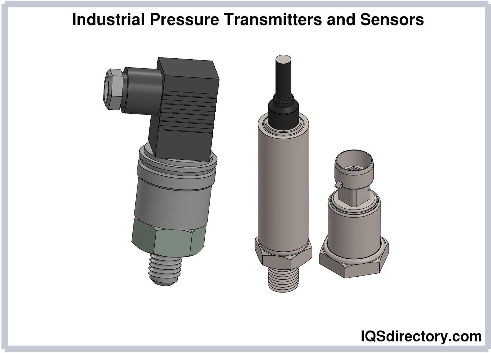 Industrial Pressure Transmitters and Sensors
