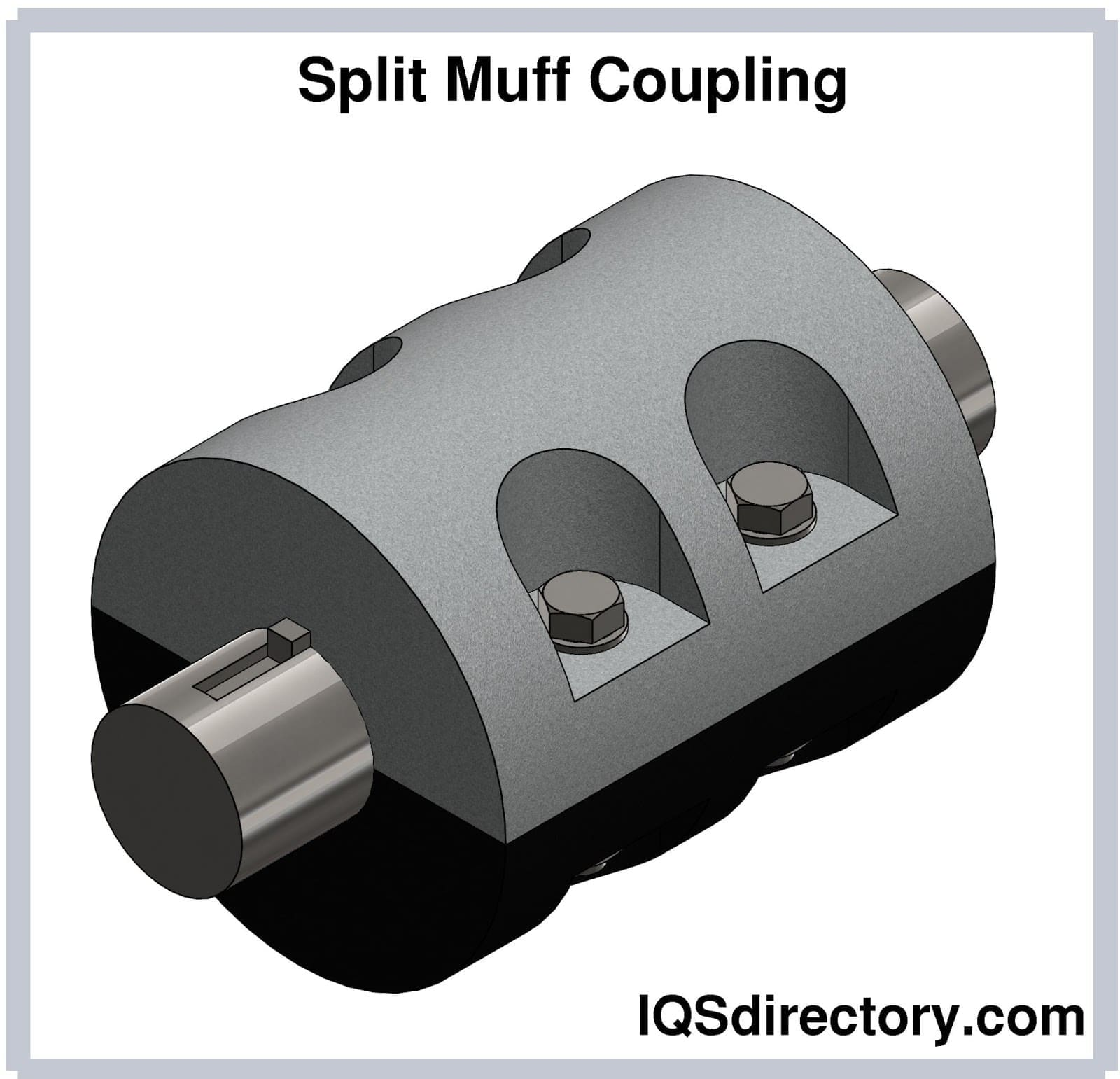 Split Muff Coupling