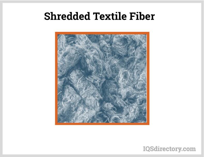 Shredded Textile Fibers