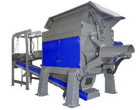 Single Shaft Industrial Shredder