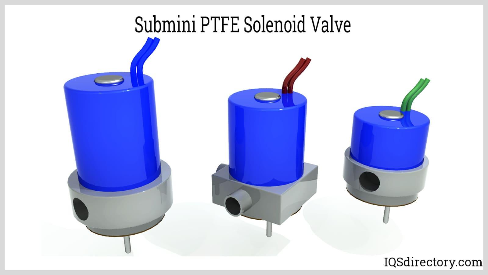 Submini PTFE Solenoid Valve