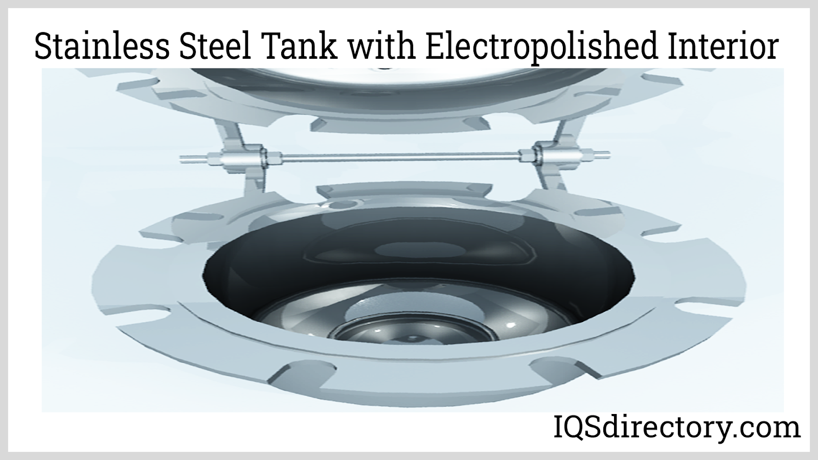 Stainless Steel Tank with Electropolished Interior