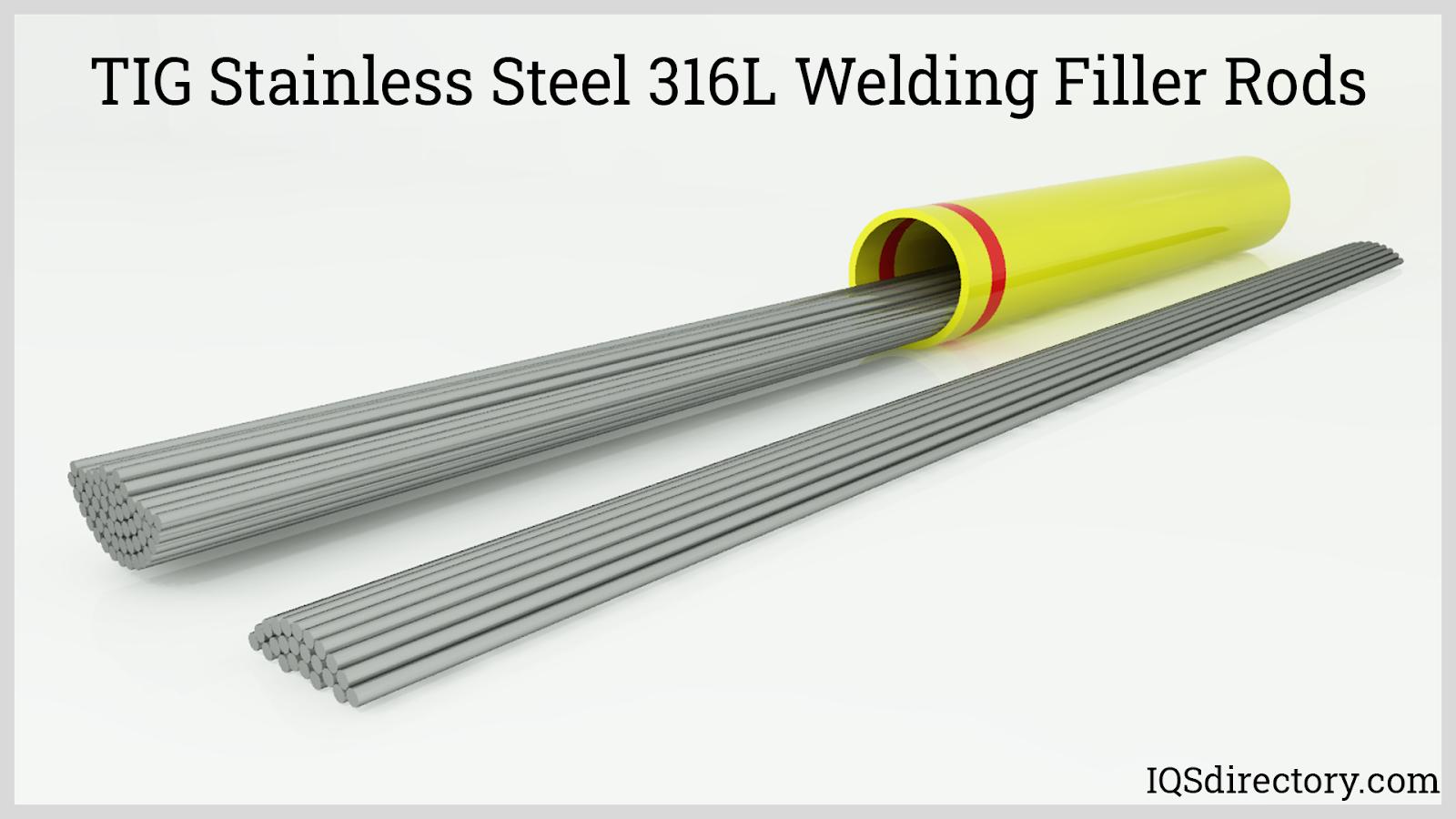 TIG Stainless Steel 316L Welding Filler Rods