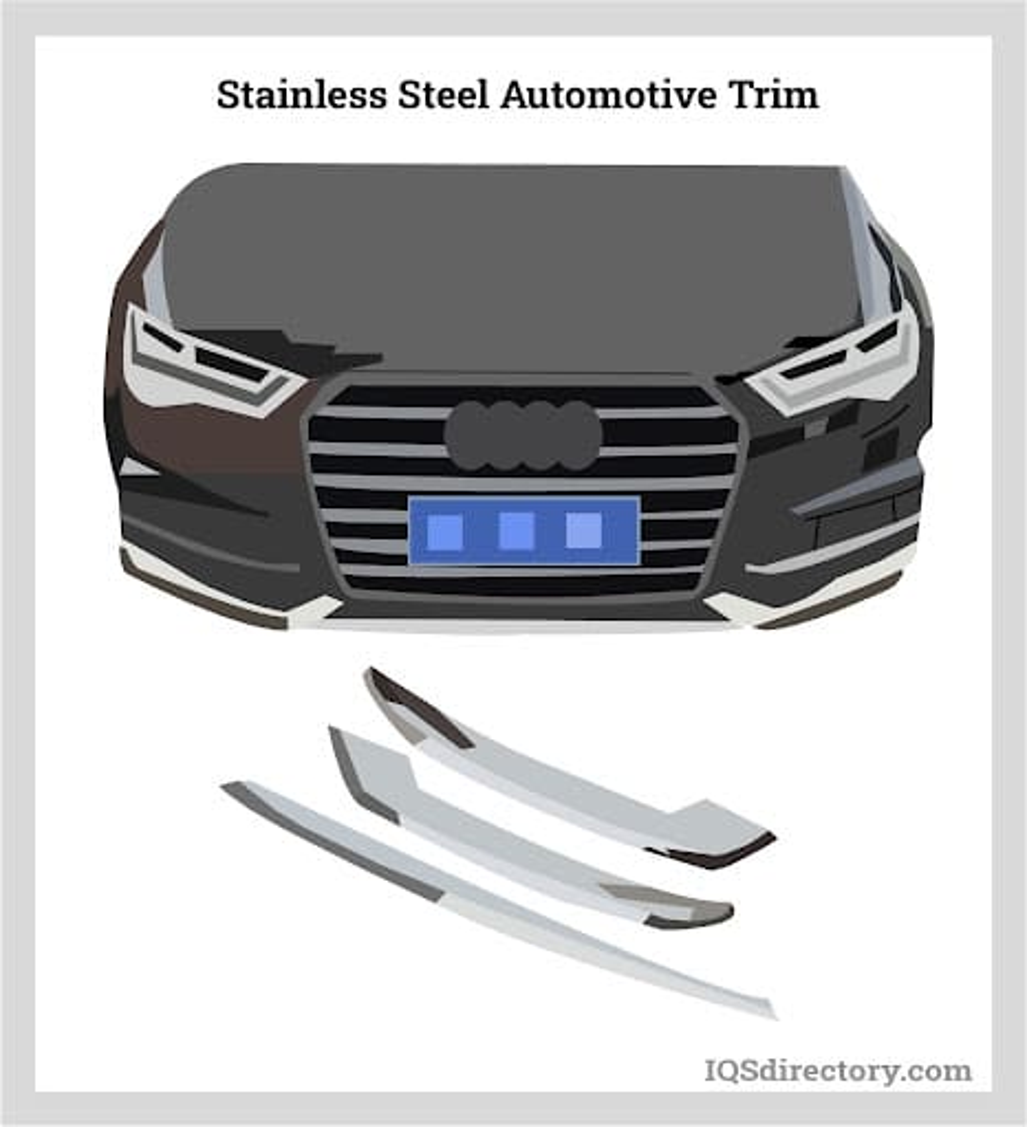 Stainless Steel Automotive Trim