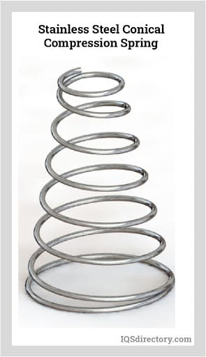 Stainless Steel Conical Compression Spring