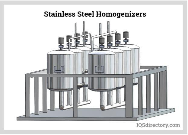 Stainless Steel Homogenizers