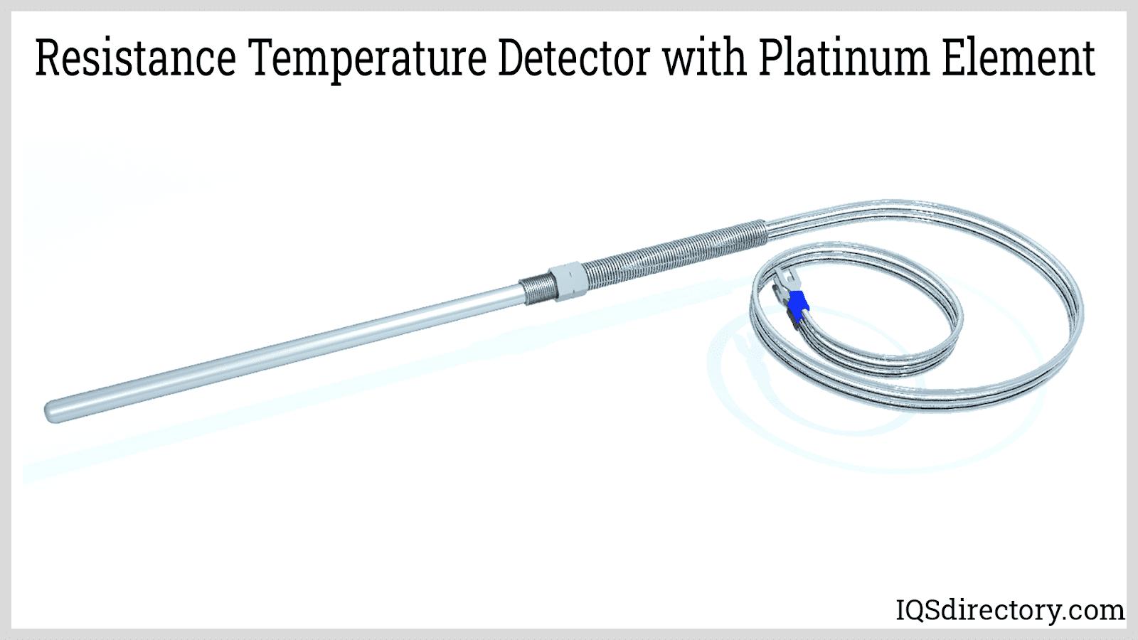Resistance Temperature Detector with Platinum Element