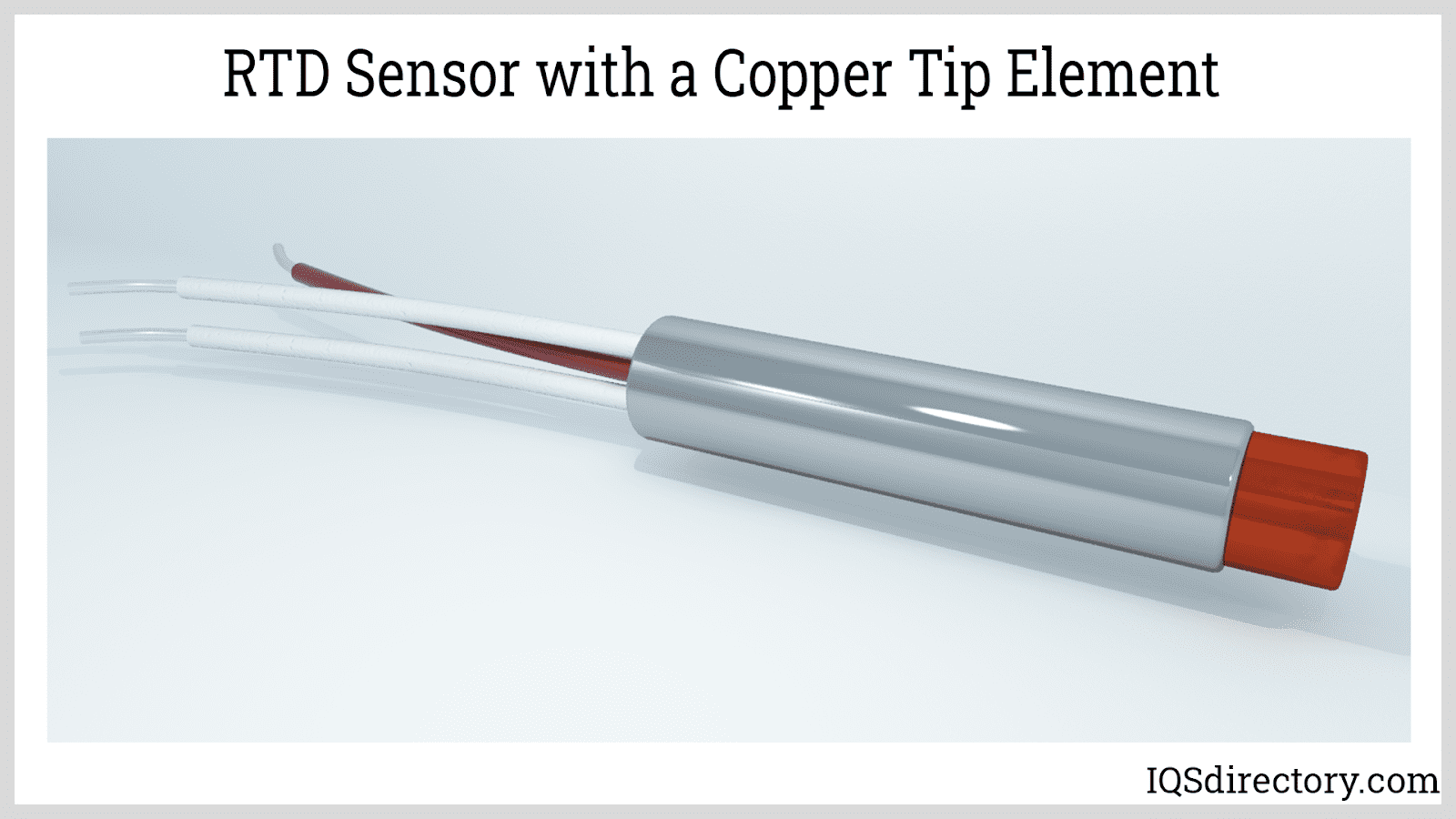 RTD Sensor with a Copper Tip Element
