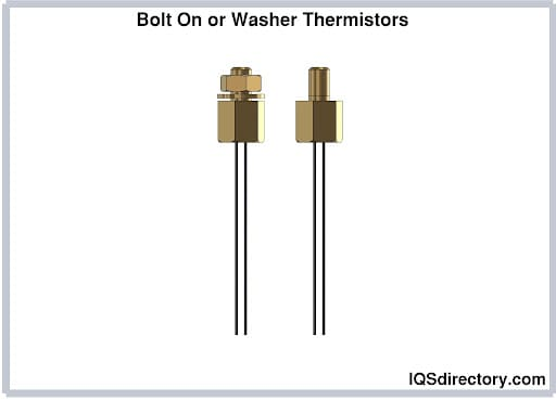 Bolt On or Washer Thermistors
