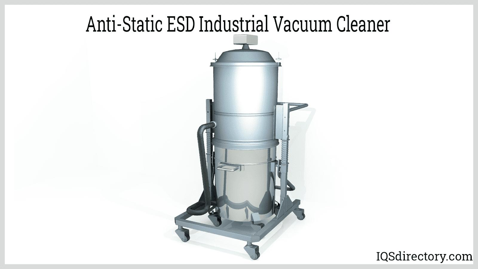 Anti-Static ESD Industrial Vacuum Cleaner