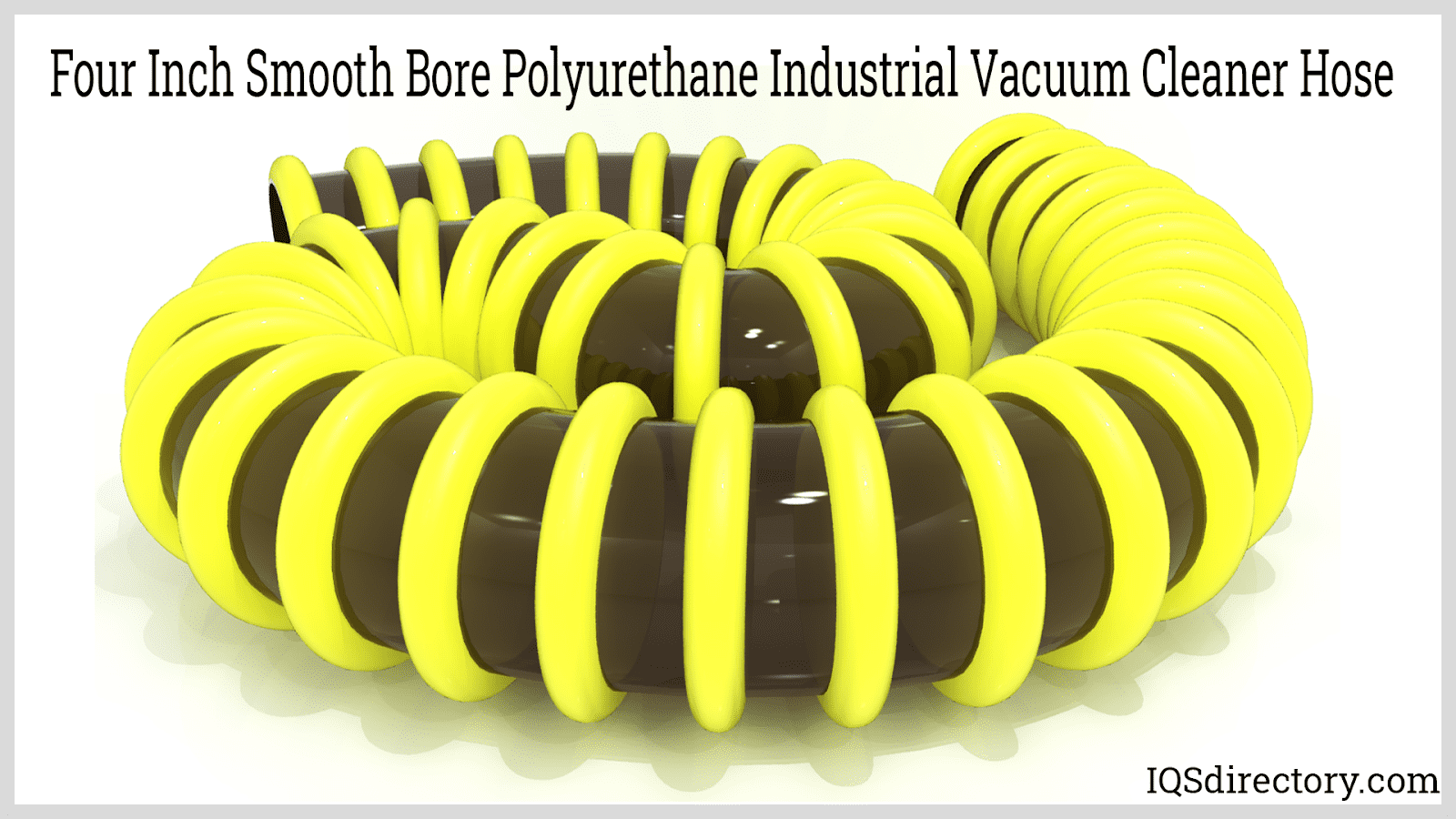 Four Inch Smooth Bore Polyurethane Industrial Vacuum Cleaner Hose