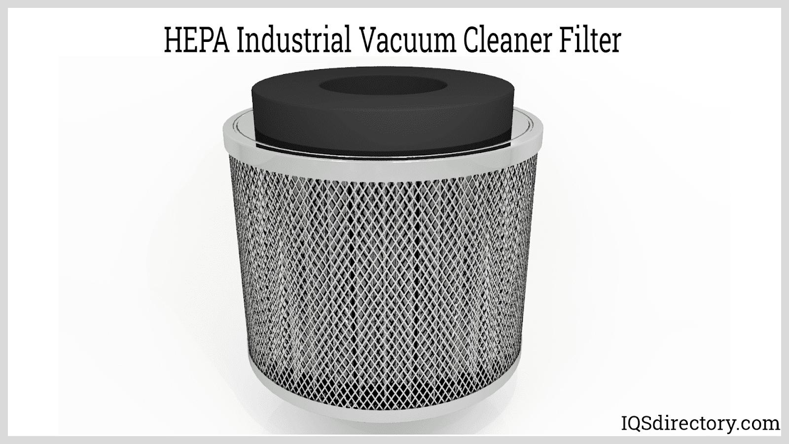HEPA Industrial Vacuum Cleaner Filter