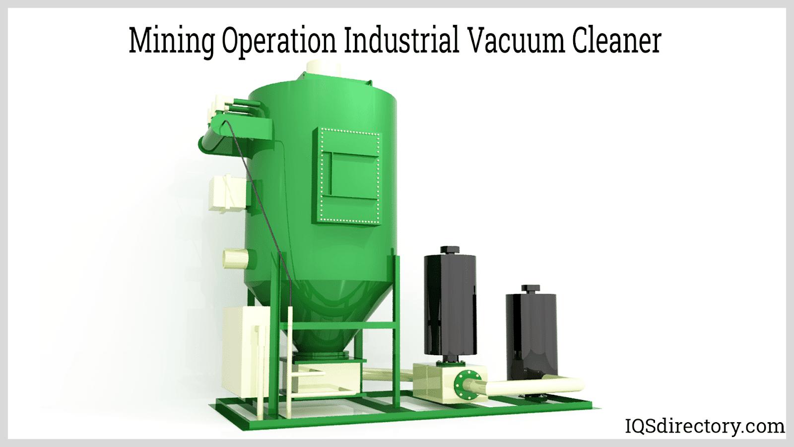 Mining Operation Industrial Vacuum Cleaner
