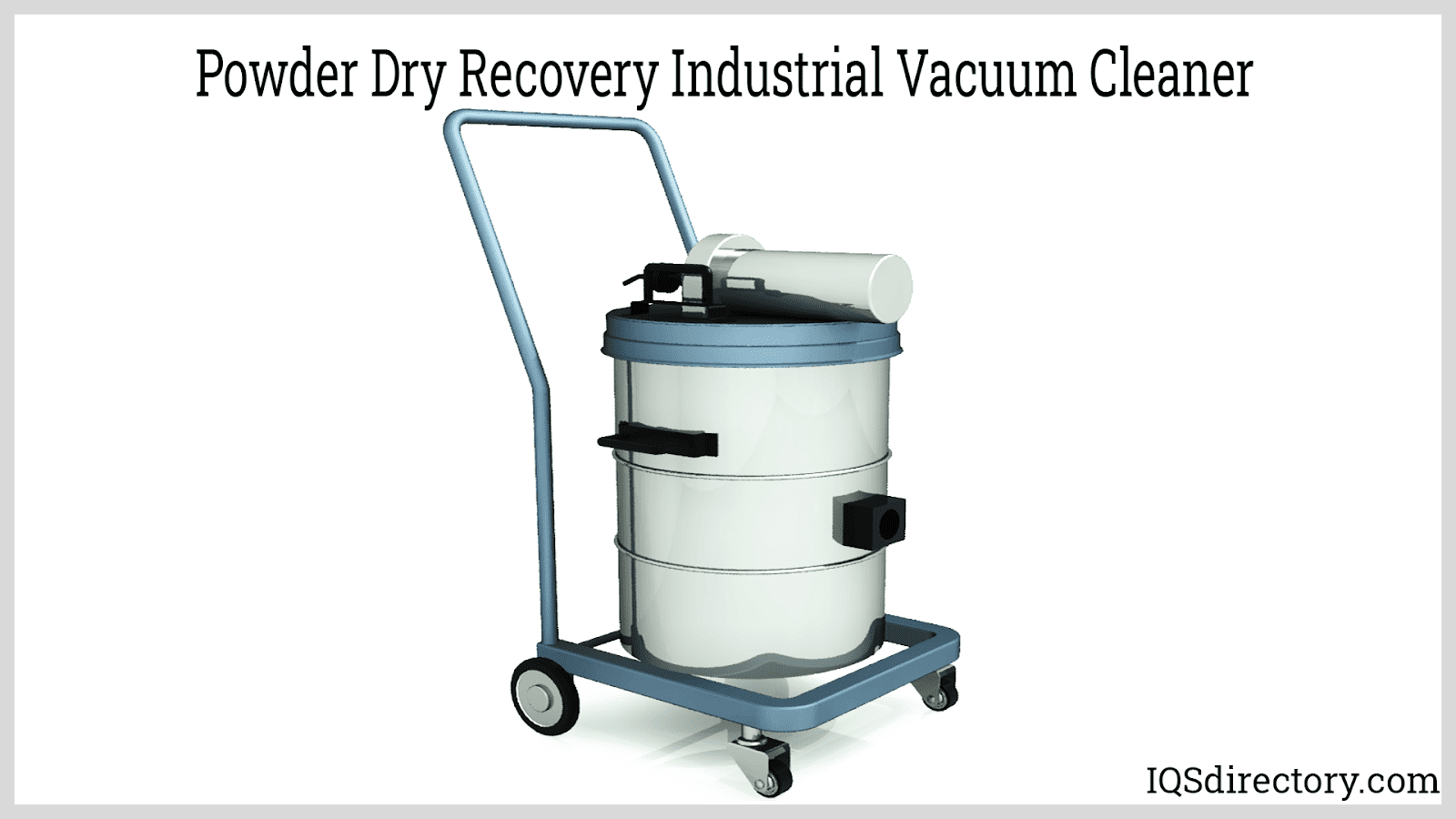 Powder Dry Recovery Industrial Vacuum Cleaner