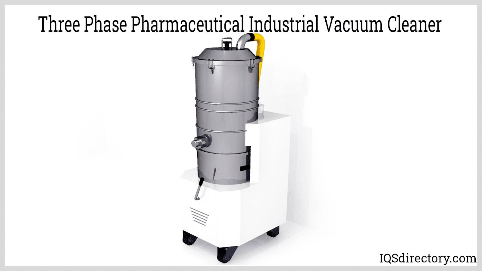Three Phase Pharmaceutical Industrial Vacuum Cleaner
