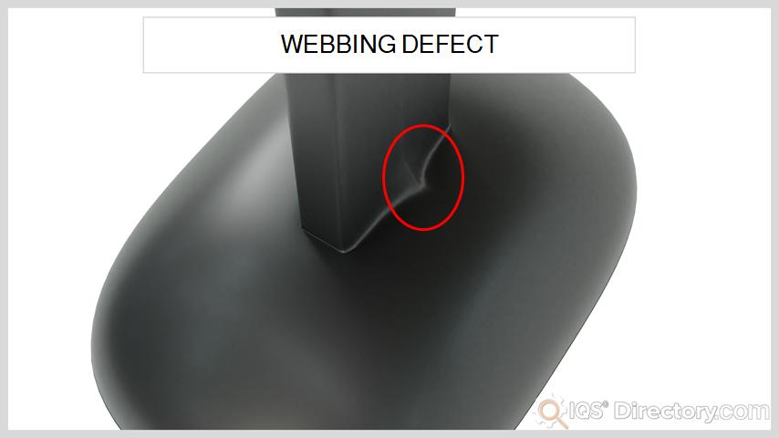 Webbing Defect