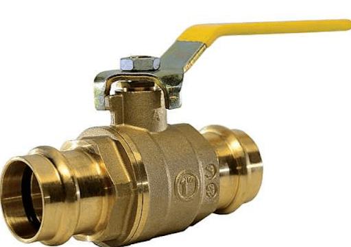 G111 Lead-free Press Fit Brass Ball Valve