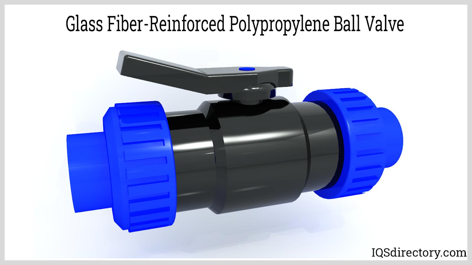 Glass Fiber-Reinforced Polypropylene Ball Valve