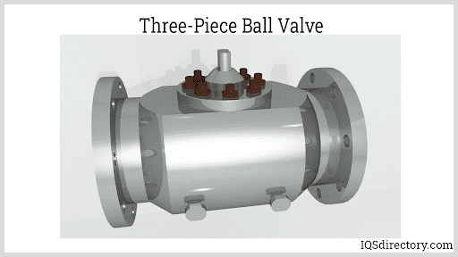 Three-Piece Ball Valve 2
