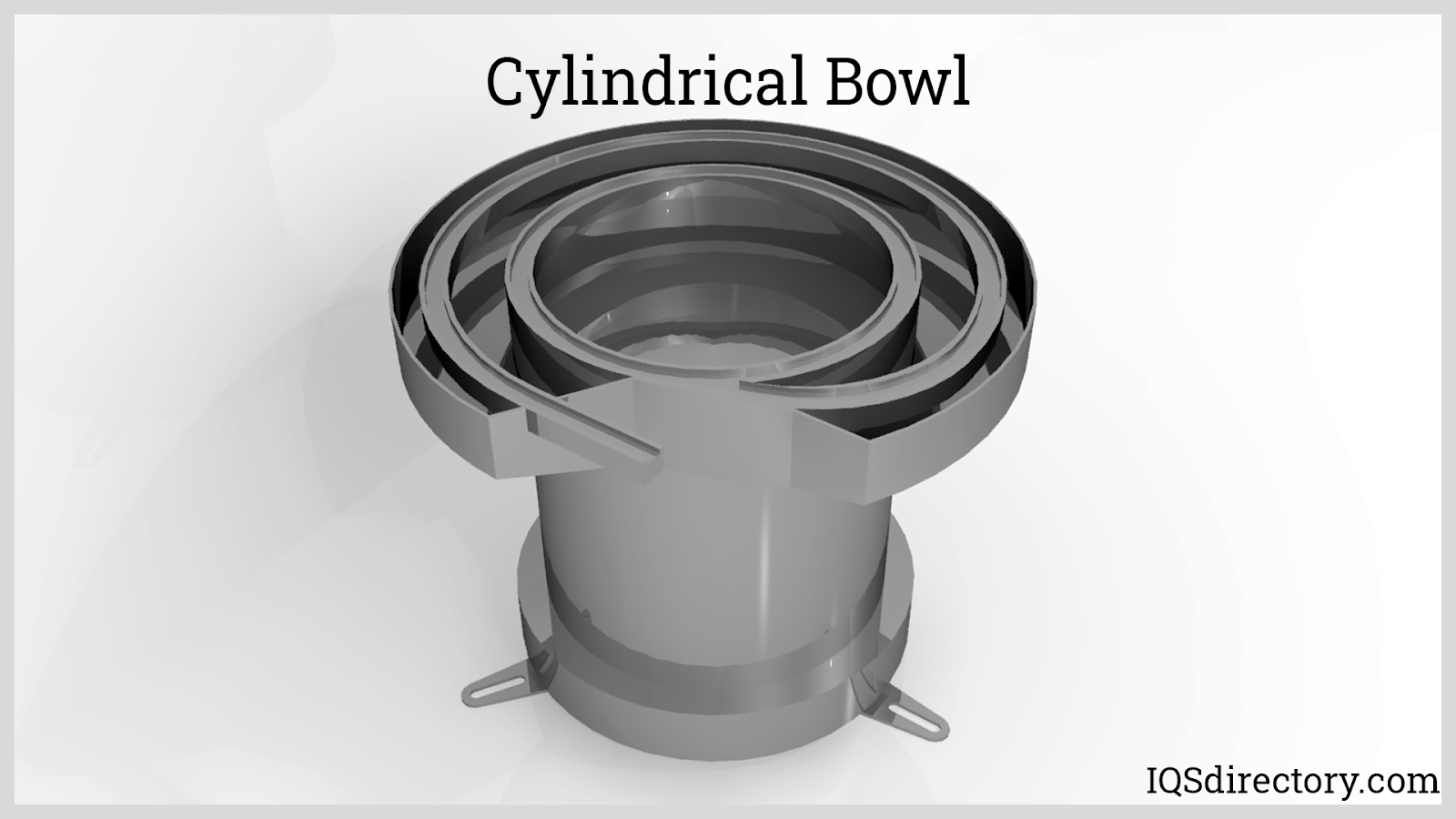 Cylindrical Bowl