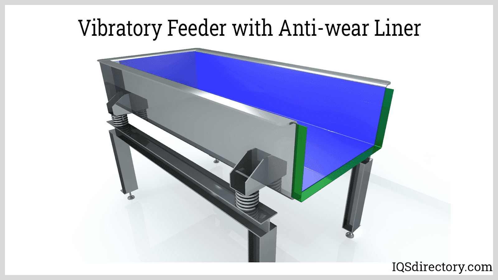 Vibratory Feeder with Anti-wear Liner