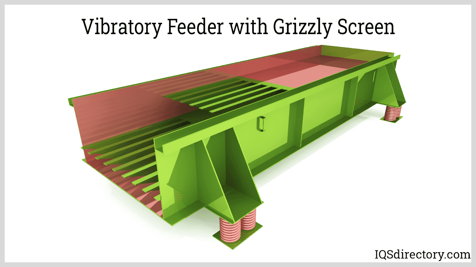 Vibratory Feeder with Grizzly Screen