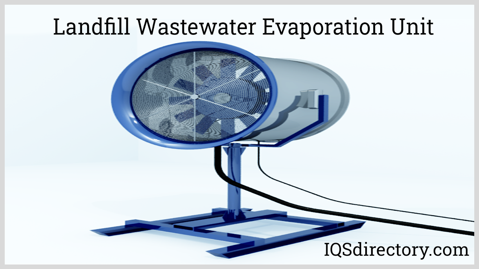 Landfill Wastewater Evaporation Unit