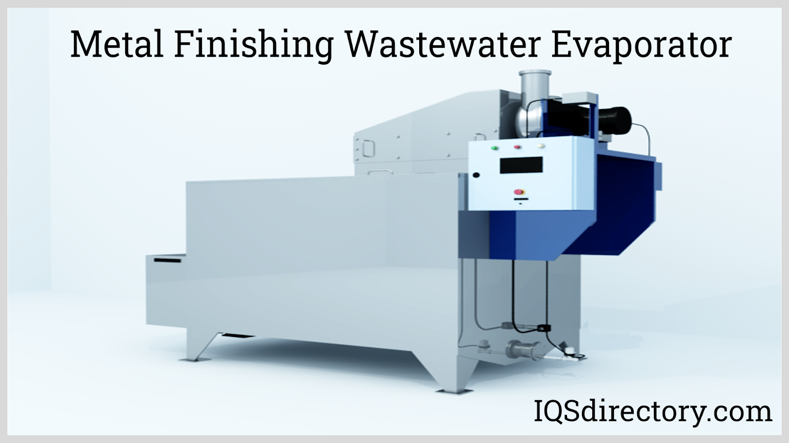 Metal Finishing Wastewater Evaporator
