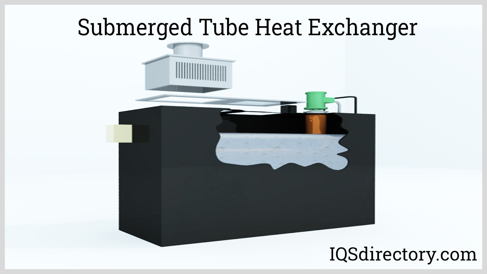 Submerged Tube Heat Exchanger