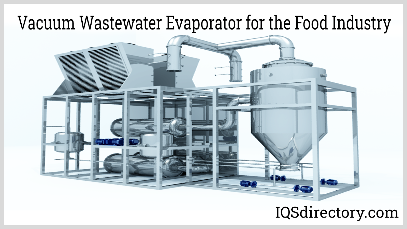 Vacuum Wastewater Evaporator for the Food Industry