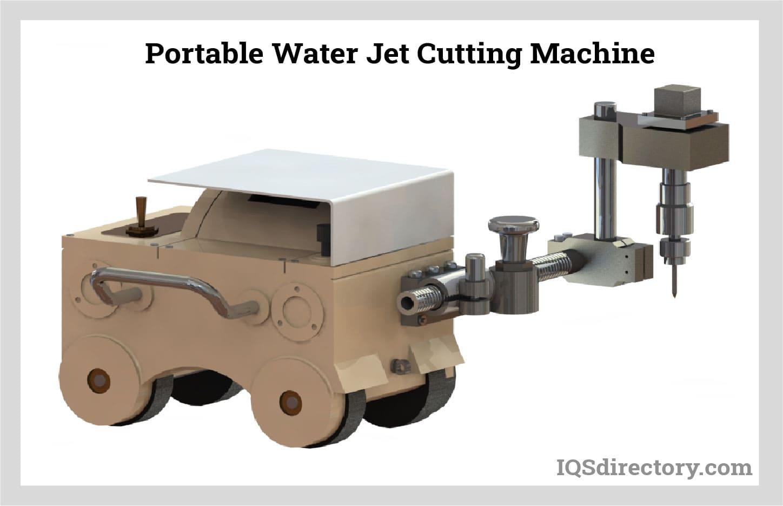 Portable Water Jet Cutting Machine